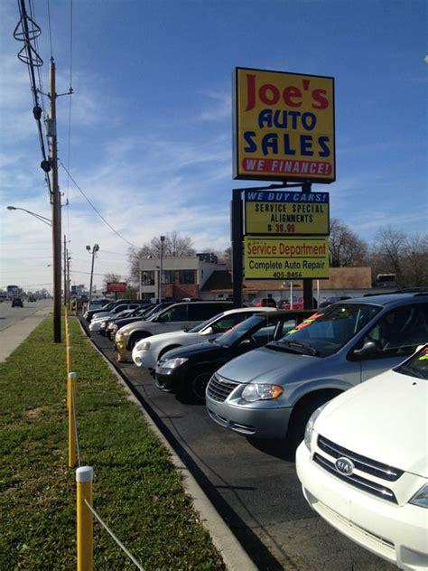 joes auto sales  car dealers  indianapolis