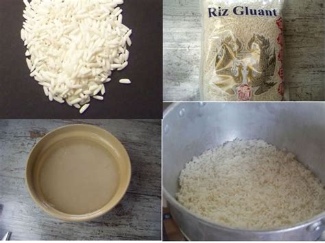 comment cuisiner le riz riz gluant comment le cuisiner
