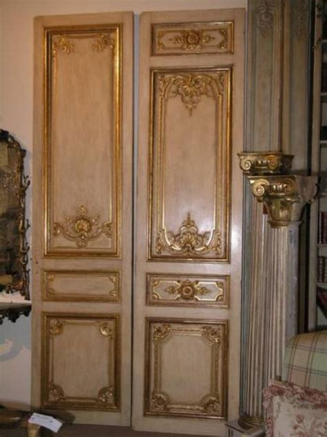 grand  century french chateau doors  sale  stdibs