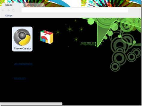 chrome themes don t fit how to easily create a custom google chrome theme