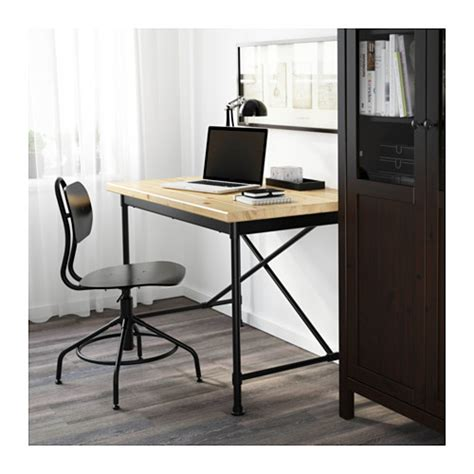 ikea desk kullaberg desk pine black 110x70 cm ikea