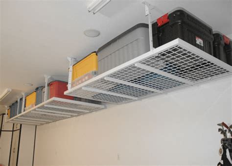 overhead storage shelves garage storage overhead systems sf bay area