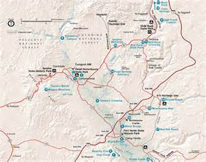 birding trail map for the verde valley birding and nature