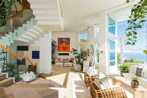 rich living room luxurious masterfully crafted paradise cove house in malibu freshome