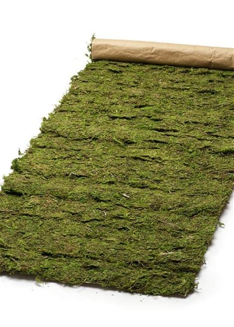 moss table runner 18 quot x48 quot moss table runner by envisionwedding etsy