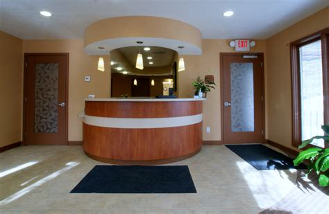 front office reception layout dental office front desk designs joy studio design