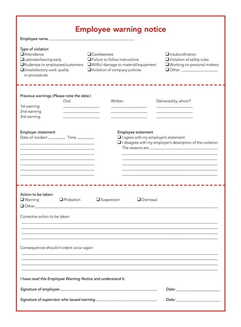 employee write up form template oyle kalakaari co