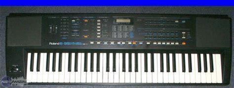 Keyboard Roland E40 yoyog s review roland e 35 audiofanzine