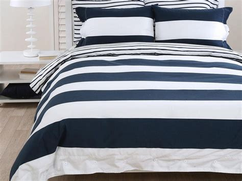 Navy Blue And White Striped Bedding by Navy Blue And White Rug Home Design Ideas