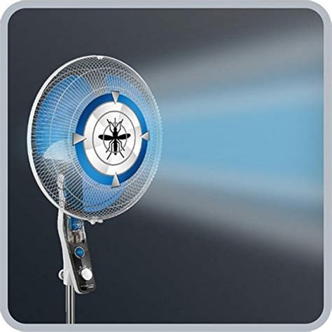 standing fan with anti mosquito setting rowenta ultimate protect vu4210f0 60w 115 145 x 40 cm