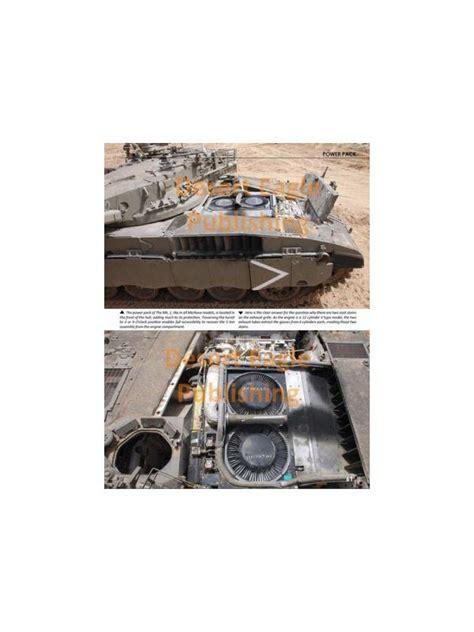 merkava siman  dep  book  desert eagle publishing merkava mk  israeli tanks idf armor