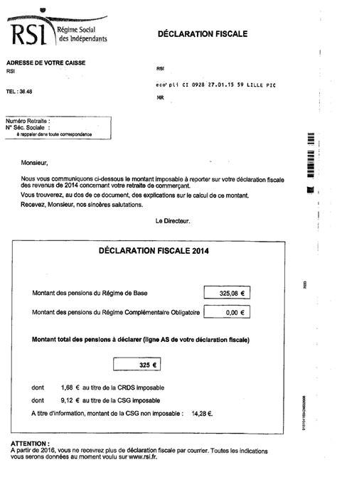 Auto Entrepreneur Calendrier Declaration 2015 Ppt Declaration Rsi 2016