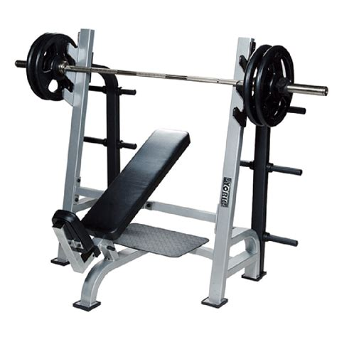 bench barbell york barbell olympic incline bench