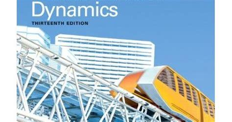 Engineering Mechanics Dynamics 13th Edition Hibbeler Pdf