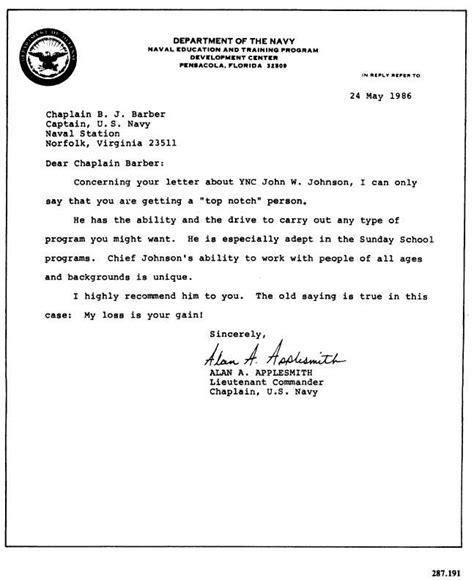 Navy Letterhead Template