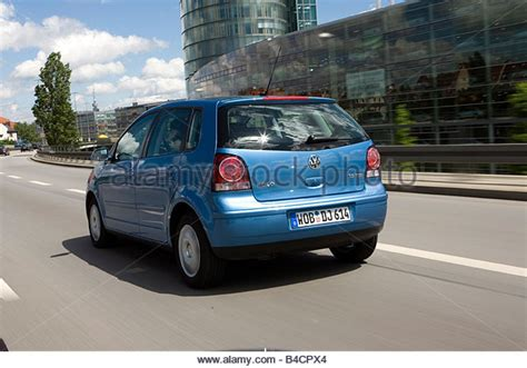 Moving Blue Polo Moving Blue vw volkswagen polo 1 9 tdi stock photos vw volkswagen