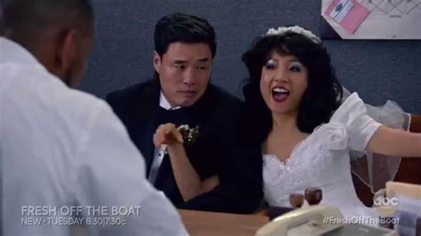 fresh off the boat airing fresh off the boat louis jessica s wedding night sneak
