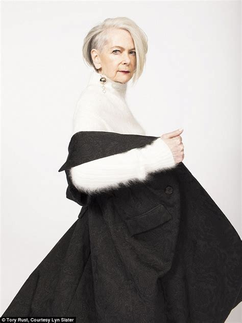 show me pictures of 63 year old women how a 63 year old professor became a glamorous model