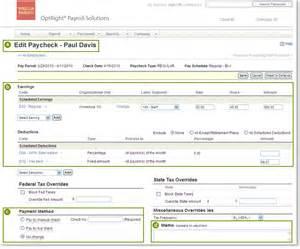 edit payroll checks small business paycheck payroll