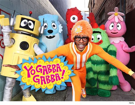 yo gabba gabba yo gabba gabba character beaned me with bottle claims