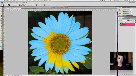 something that changes color how to change the color of an object in photoshop