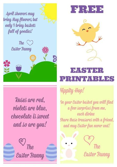 free printable letters easter bunny free easter printables notes from the easter bunny