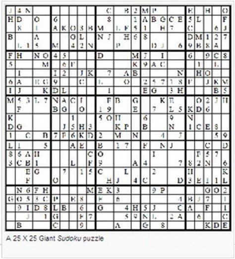 super sudoku 16x16 a giant sudoku glossary
