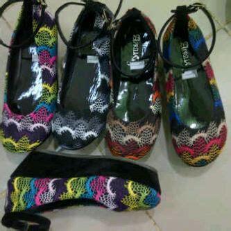 Ready St 01 Mrh Kanvas sepatu wedges flat shoes boots heels beautystoreochie laman 9