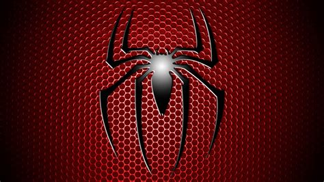 wallpaper spiderman spiderman logo wallpapers wallpaper cave