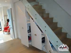 Under Stair Storage Solutions by Stair Renovation Glass Balustrade Wine Rack London Sw11