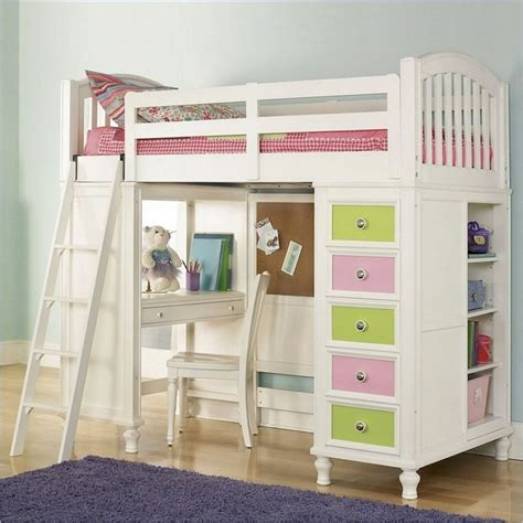 Kid Loft Bed With Desk Pics For Gt Loft Beds With Desk Design Bookmark 18449