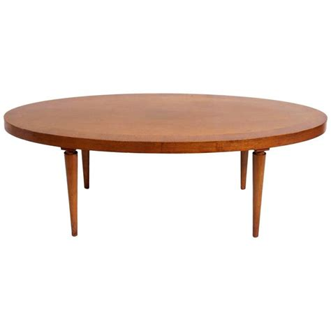 oval coffee table by t h robsjohn gibbings for