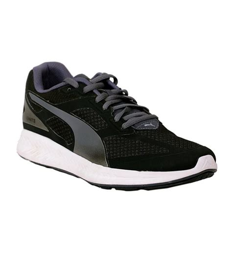 ignite mesh black sports shoes snapdeal price sports
