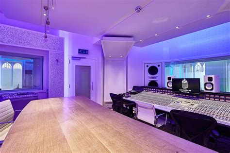 home recording studio design ideen paul epworth s the church studios uk renovated