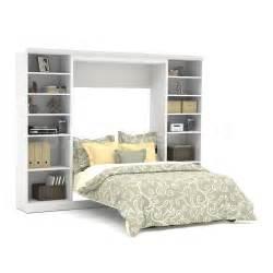White Murphy Bed Kit Sale 2056 88 Versatile By Bestar 109 Wall Bed Kit