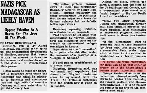 Red Desks The Reich S Jewish Resettlement Scheme National Vanguard