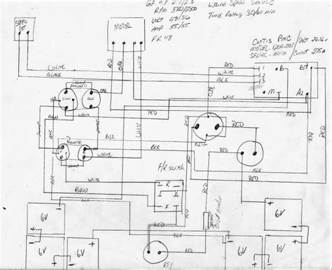 antique cushman golf car wireing diagram 171 antique auto club