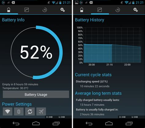 android battery app update my androidbattery widget reborn get to your backup
