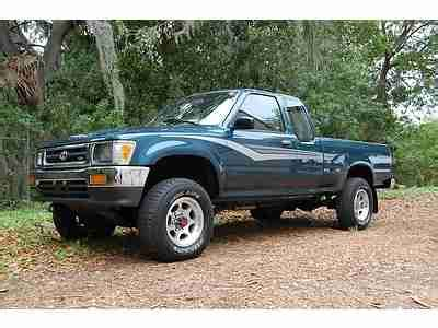 how to learn about cars 1994 toyota xtra auto manual sell used 1994 toyota pickup xtra cab 89k original miles 1 owner 4x4 v6 factory mags clean in