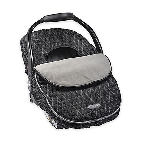 jj cole car seat cover safety jj cole 174 car seat cover in tri stitch black buybuy baby