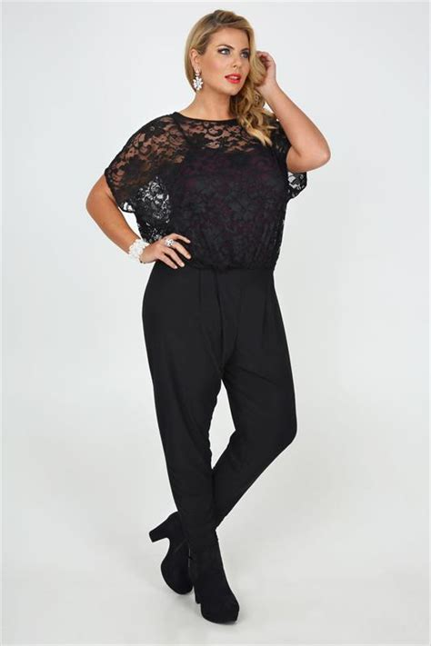 plus size lace overlay sleeveless romper dress black black lace overlay jumpsuit with keyhole detail plus size