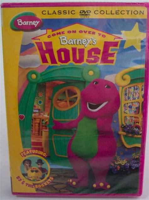 barney house barney come on over to barney s house dvd video new ad 3433111 addoway