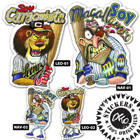 imagenes leones caracas vs magallanes caricaturas del beisbol venezolano navegantes del