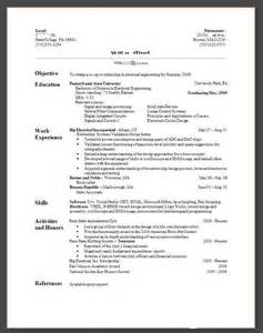 View Resume by Catalog