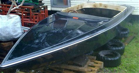 fishing boat projects for sale uk fletcher 17ft speed boat project powerboat fishing