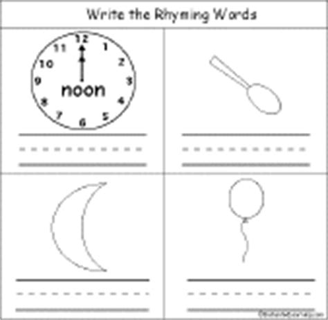 Words That Rhyme With Mattress by Rhyming Words Early Reader Book Enchantedlearning