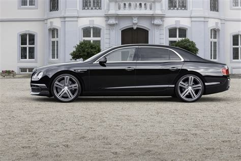bentley continental flying spur black startech infuses the continental flying spur with some