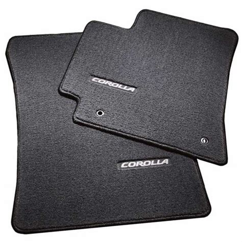 Toyota Corolla 2013 Floor Mats by New 2009 2013 Toyota Corolla Carpeted Floor Mats From