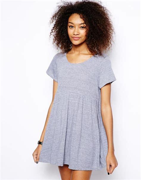 pattern dress babydoll american apparel babydoll dress in marl apparel pattern