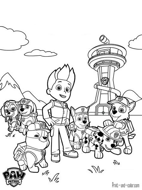 paw patrol coloring pages game paw patrol games free colouring pages